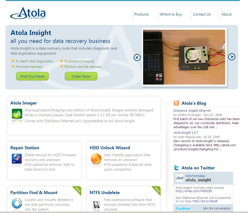 Atola.com new site