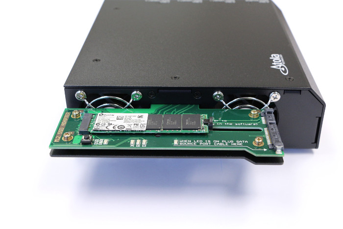 M2 PCI SATA SSD extension module