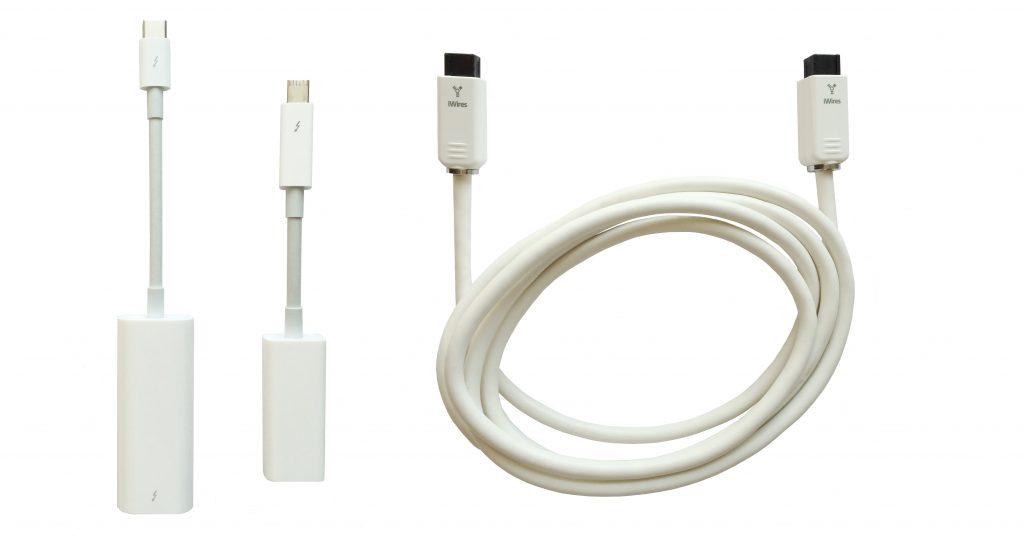 Connecting MacBook using Thunderbolt extension module