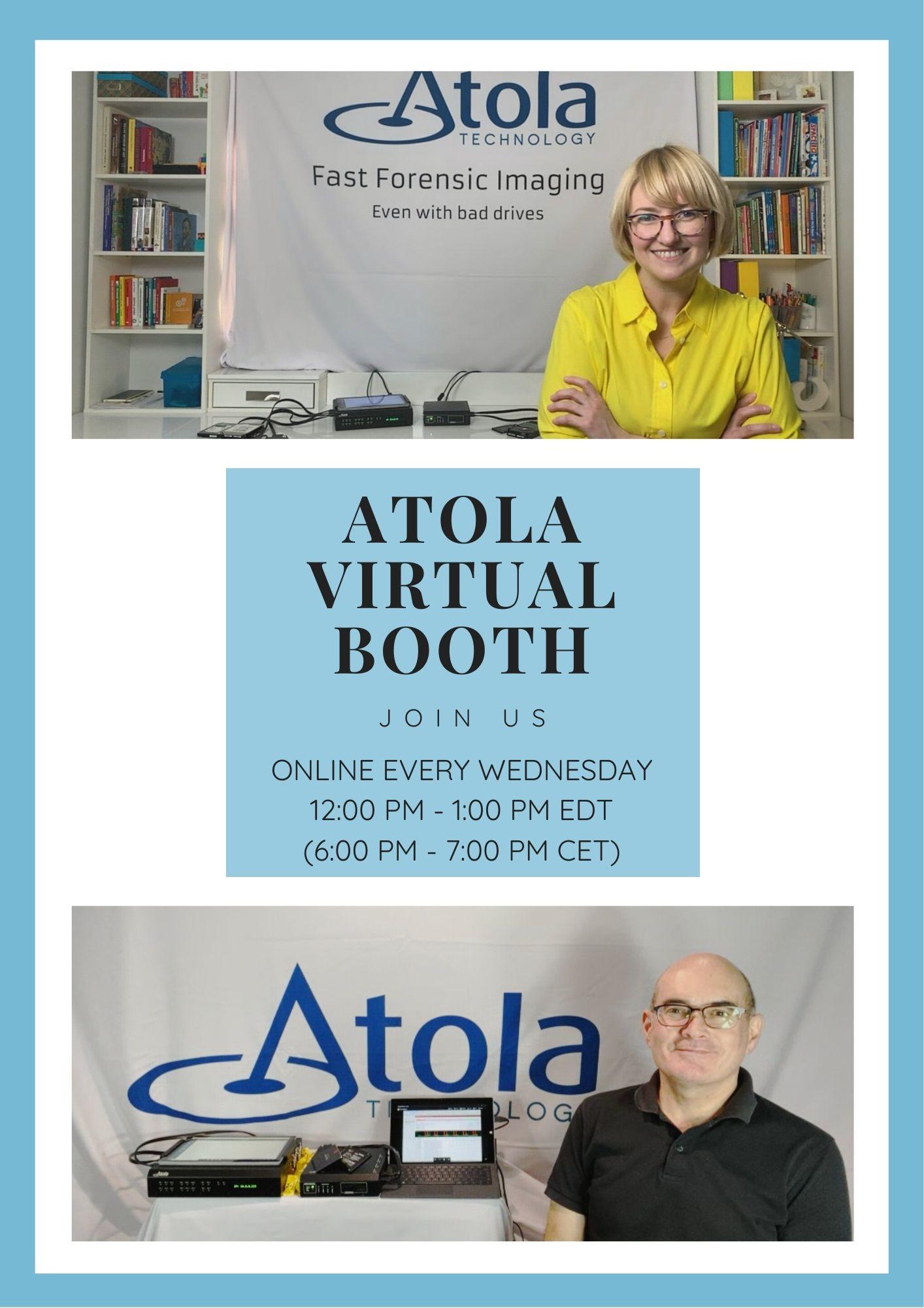 Atola Virtual Booth