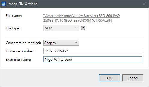 AFF4 image file